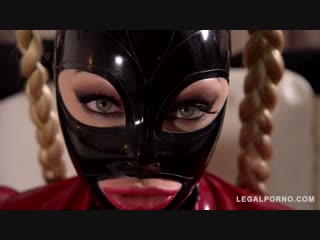 Cock Craving BDSM Pornstar Fucked By Two Dominators ◆ Latex Lucy ◆ Fetish ◆ Latex ◆ Rubber ◆ Latex Lucy - Mystery Masks