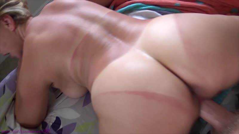 MILFBM Brianna Beach ( The Sunburn Incident) Blonde, Blowjob, Fucking, Mommy, Big Tits, POV, MILF, Cumshot,