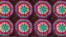 Crochet square pattern Квадрат Вязание крючком урок 346