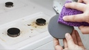 Самый легкий способ почистить горелки газовой плиты