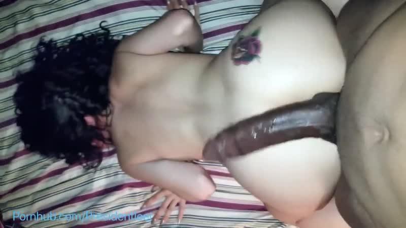 Села до конца на 40 сантиметровый член негра - vk.com/porn_station [секс, минет, порно]