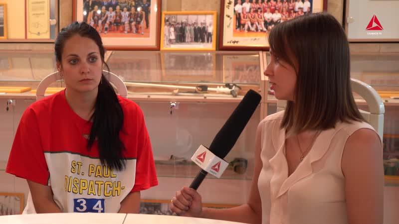 Интервью с волейболистками