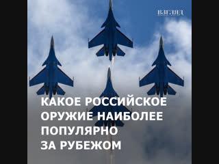 Какое российское оружие наиболее популярно за рубежом