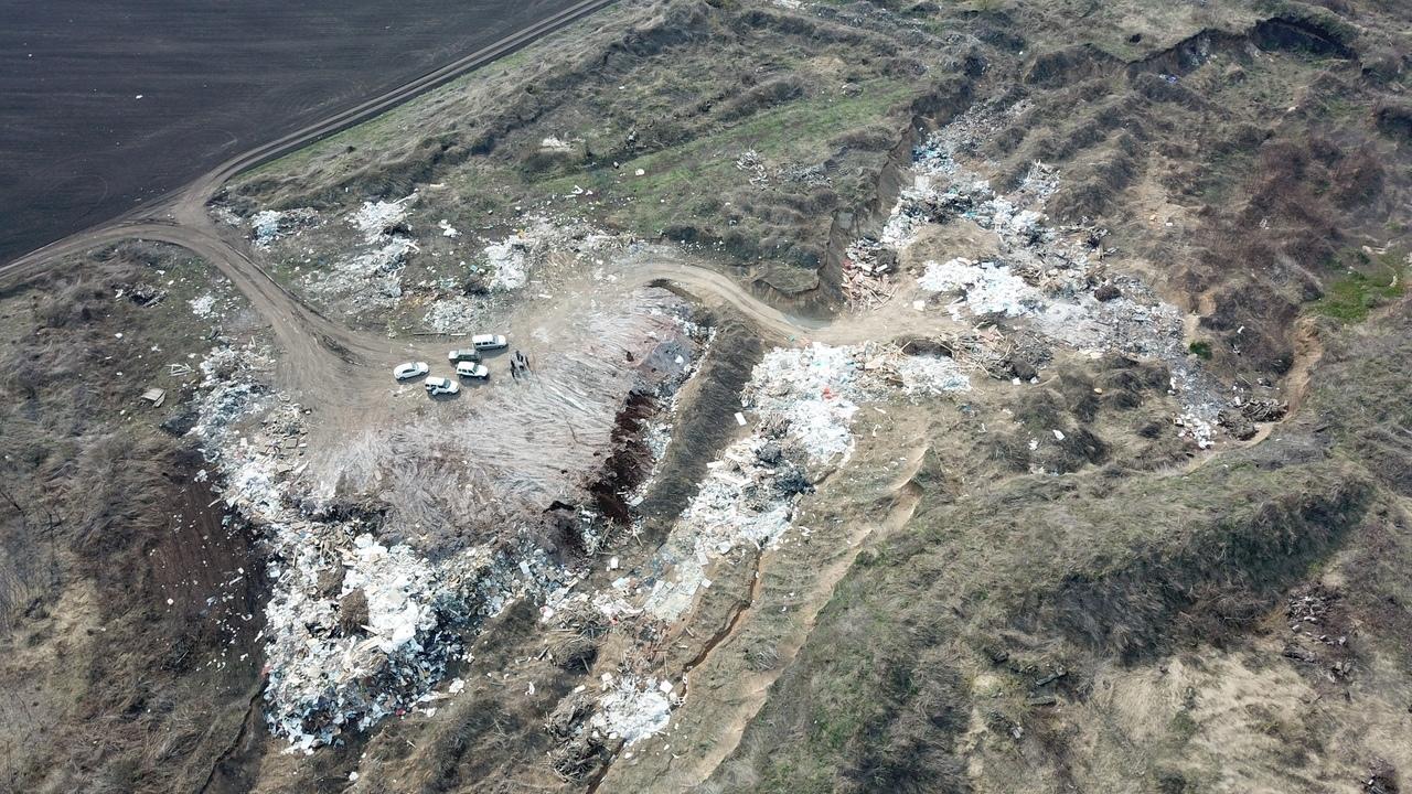 Ещё одну несанкционированную свалку нашли в Курске