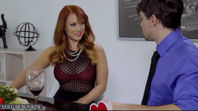 Dani Jensen порно с рыжей мамкой, Big Boobs, Redhead, Hardcore, mom, Glasses, Milf,