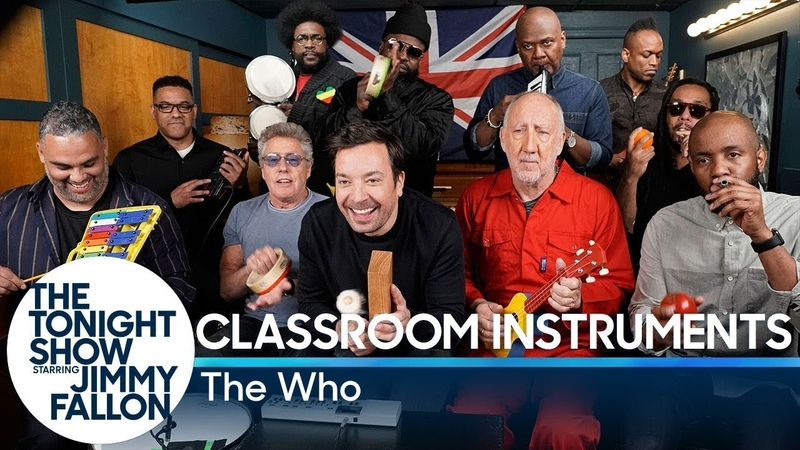 Jimmy Fallon, The Who The Roots Sing Won't Get Fooled Again (Classroom Instruments)