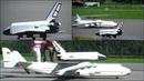 SCARY RC FLIGHT MRIYA ANTONOV AN-225 DECOUPLING BURAN