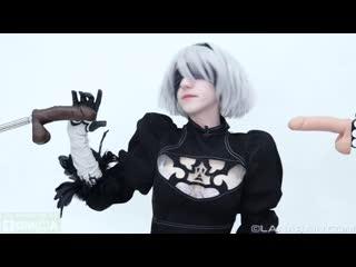 [ManyVids] Lana Rain - 2B Uses Her Body To Rescue (NieR:Automata