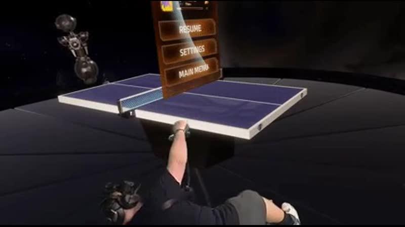 Когда забыл, что стол — виртуальный