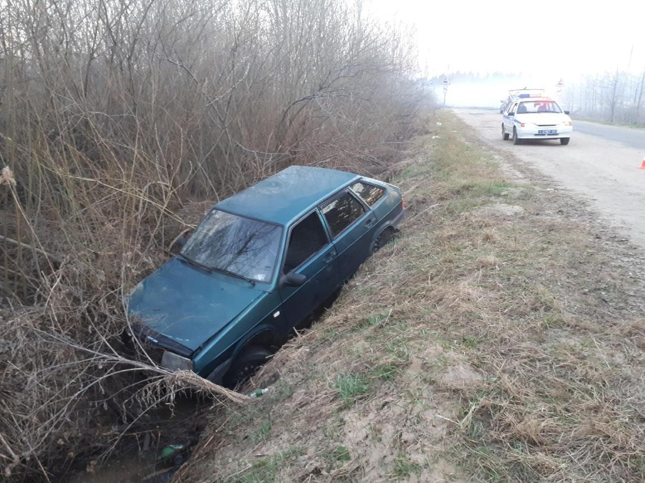 В Кимрском районе пьяный водитель «девятки» спровоцировал ДТП с пострадавшими