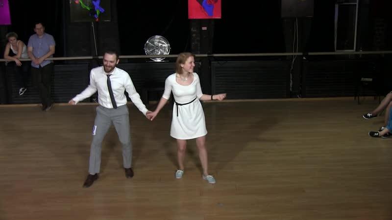 Daria Chupyrkina Igor Ben - Showcase at Russian Swing Dance Championship 2014