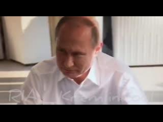 Владимир Путин шутит про пожары в Красноярском крае