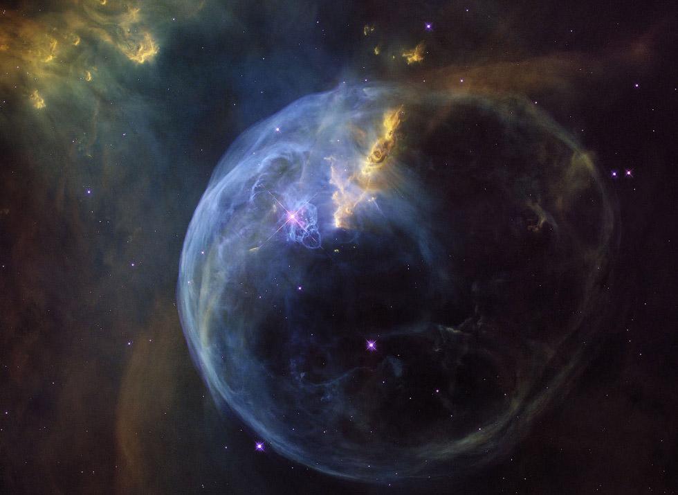 Неземная красота... кадры телескопа Хаббл