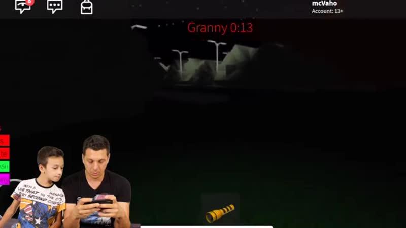 СТАЛ ГРЭННИ в РОБЛОКС Im play Granny Roblox in real life
