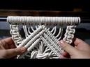 Как сплести МАКРАМЕ БРИДЫ Macrame School for Beginners своими руками вязание chrochet ❤️❤️❤️