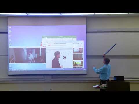 Math Professor Fixes Projector Screen April Fools Prank