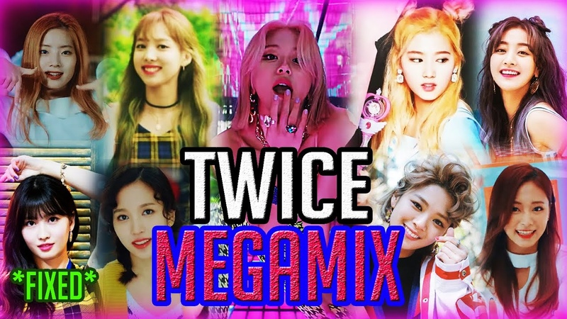 TWICE Megamix - All Songs Mashup [Korean Title Tracks] (Fancy, TT, Likey, LOA, DTNA, Yes Or Yes...)