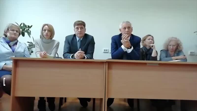 Сотрудники магнитогорской станции скорой помощи встретились с министром здравоохранения