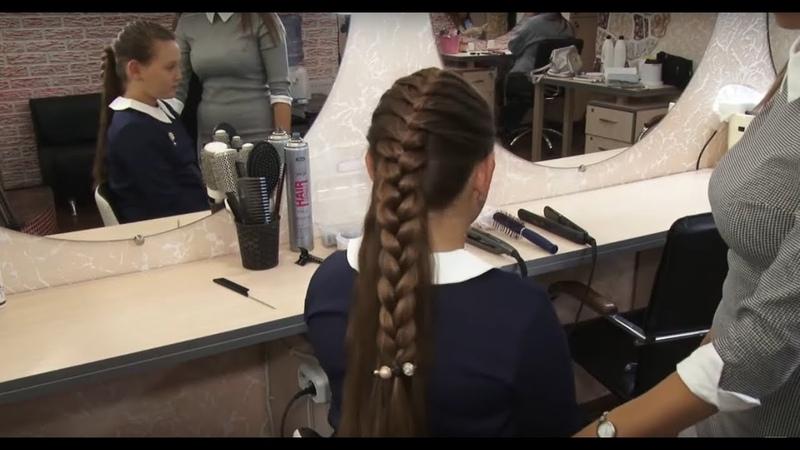 Как не опоздать в школу, или Топ самых быстрых причёсок для школьниц
