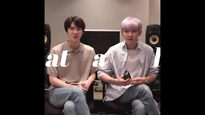 Sehun and chanyeol's what a life
