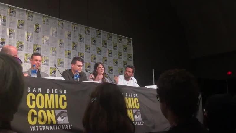 Речь Амелии Роуз Блэр на Comic Con San Diego 2019