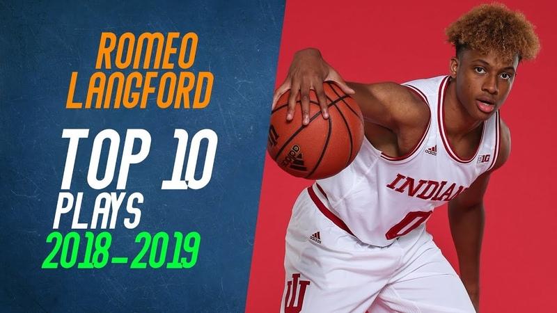 Romeo Langford Top 10 Plays from 2018-2019 NCAA Season
