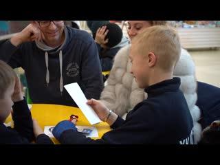 Юный хоккеист из Чика на день станет частью ХК Сибирь!
