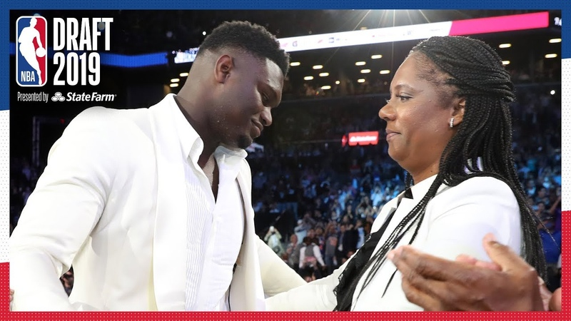Zion Williamson Emotional After Being Selected 1 OVERALL | NBA Draft 2019 NBANews NBA Pelicans