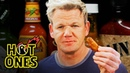 Gordon Ramsay Savagely Critiques Spicy Wings Hot Ones