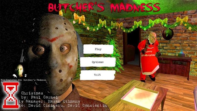 Новогоднее обновление! Психопат стал дедом Морозом | Butcher's Madness 1.0.7