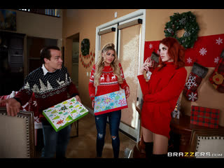 Brazzers - Horny For The Holidays: Part 1 /Jessa Rhodes & Molly
