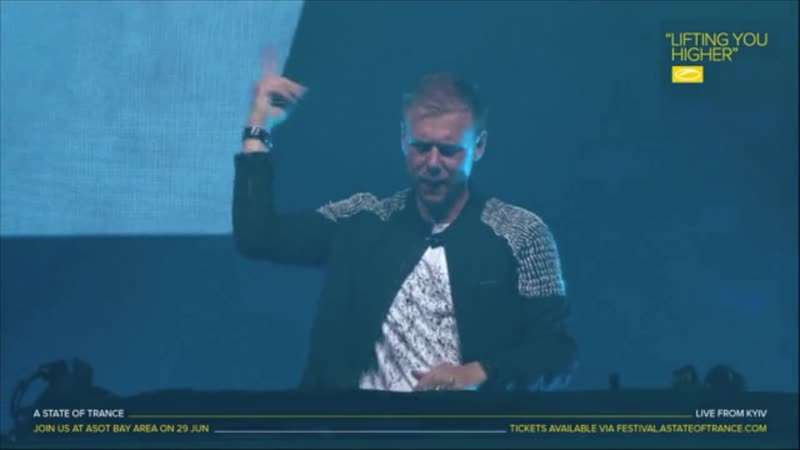 Armin Van Buuren dropping Come With Me at ASOT 900 Kiev