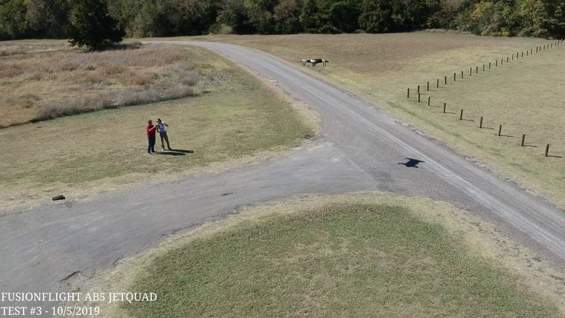 JetQuad Worlds First Jet-Powered VTOL Drone Test 3 (Drone Footage)