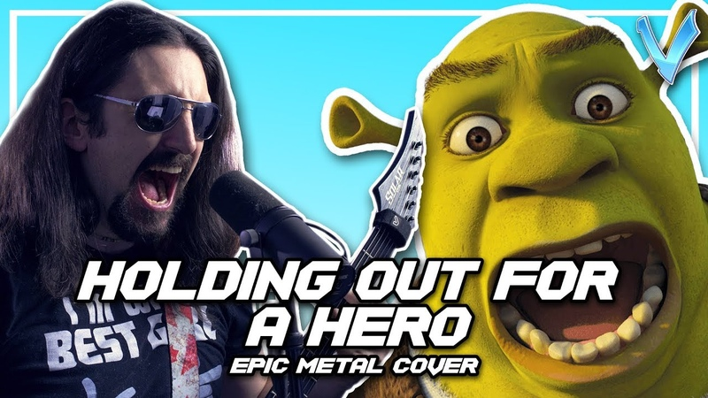 Holding Out For A Hero Bonnie Tyler EPIC METAL COVER Little V