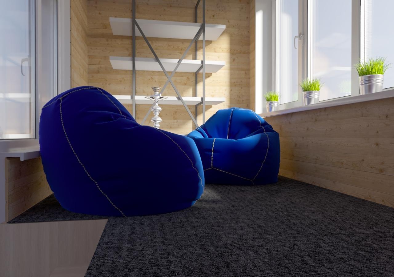 Интересная идея - подиум для хранения на лоджии. Как вам такая задумка?