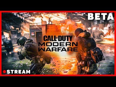 Залетел на бета тест Call of duty modern warfare 2019