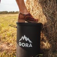 Логотип GORA SMM // коммуникационное агентство