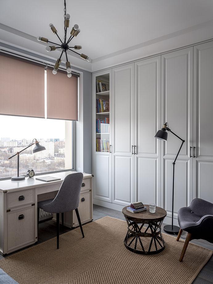 Семейный очаг: квартира 112 м² в Москве от Юлии Хохловой    02
