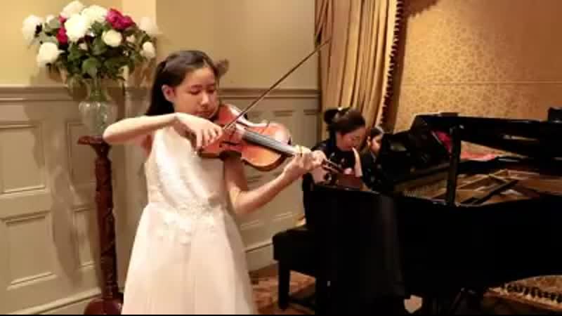 13 year old Leia Zhu plays Ravels