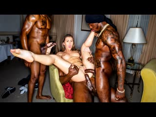Paige Owens - First Time X3 (Anal, DP, Blowjob, Brunette, IR, Hardcore, Foursome)
