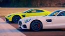 Aston Martin V8 Vantage vs Merc AMG GT S Top Gear Series 26