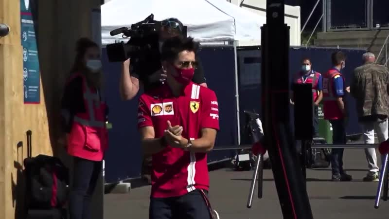 Интервью с Шарлем перед Гран При Австрии