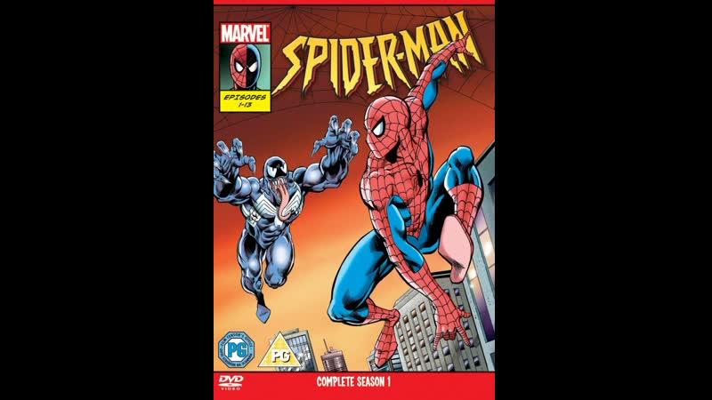 Человек паук Spider Man 1 й сезон мультфильм фантастика криминал приключения семейный сериал 1994 1995