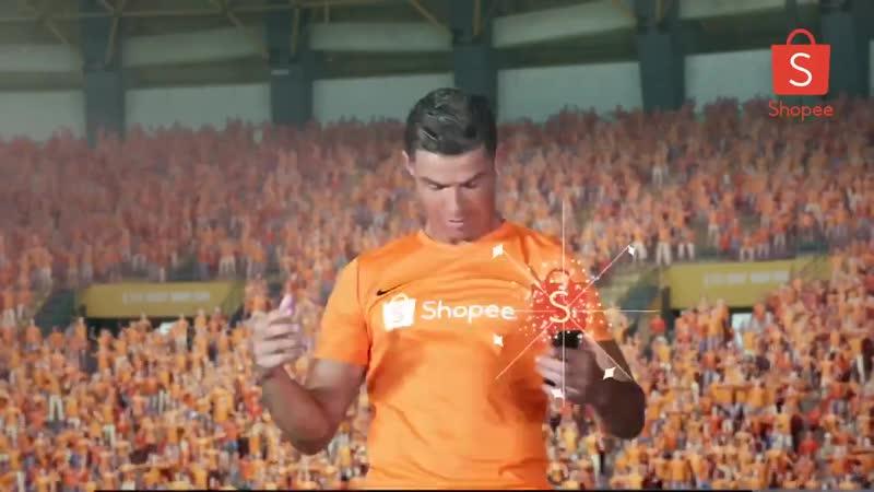 🇮🇹 Роналду снялся в кислотной рекламе сингапурского AliExpress – зацени уровень ее абсурда