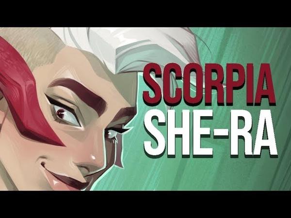 Scorpia Speedpaint