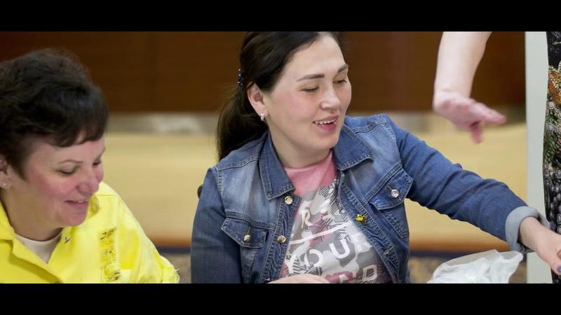 Видеоролик о женском клубе Рожденная побеждать!