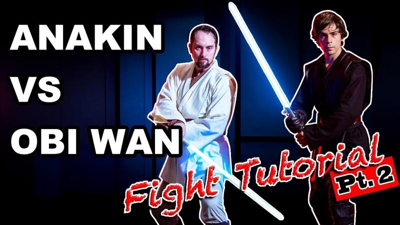 Obi-Wan Vs Anakin Episode 3 Fight tutorial
