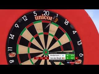 Gary Anderson vs Dimitri Van den Bergh (PDC World Matchplay 2020 / Final)