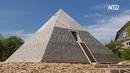 Мини-пирамида Хеопса появилась в деревне под Питером
