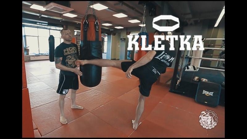 Сильные и скоростные удары ногами Упражнения Артема Льва Левина и Андрея Басынина